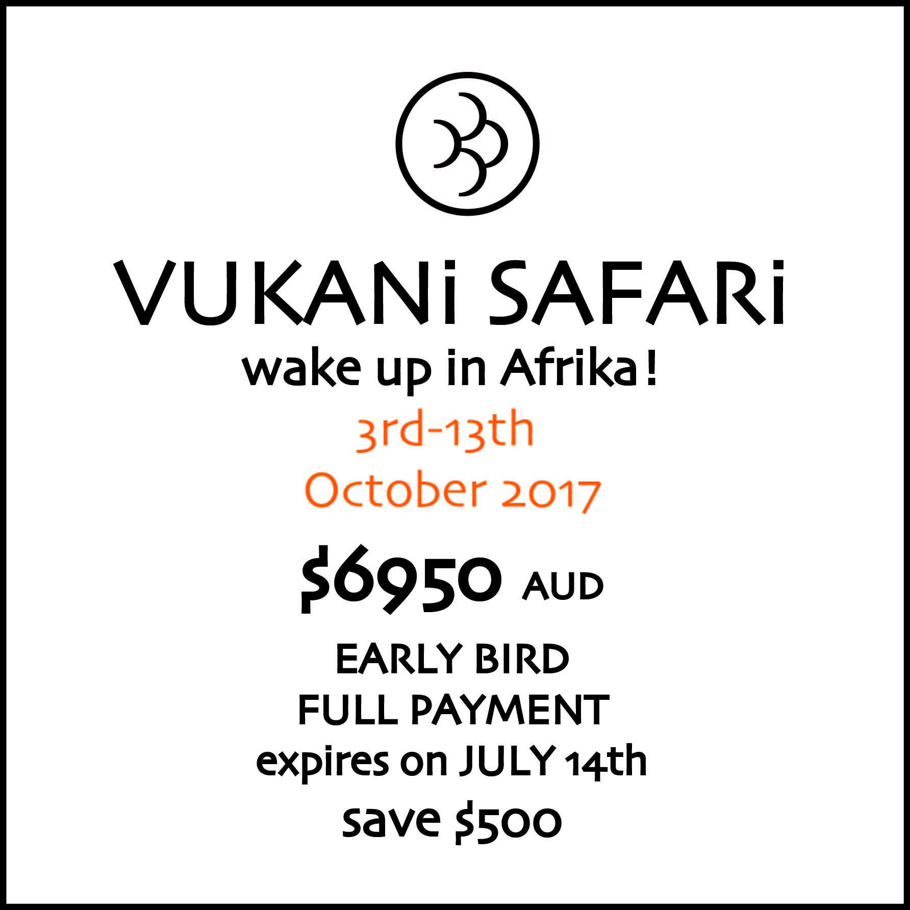 Vukani Safari shopLogosFullPayment