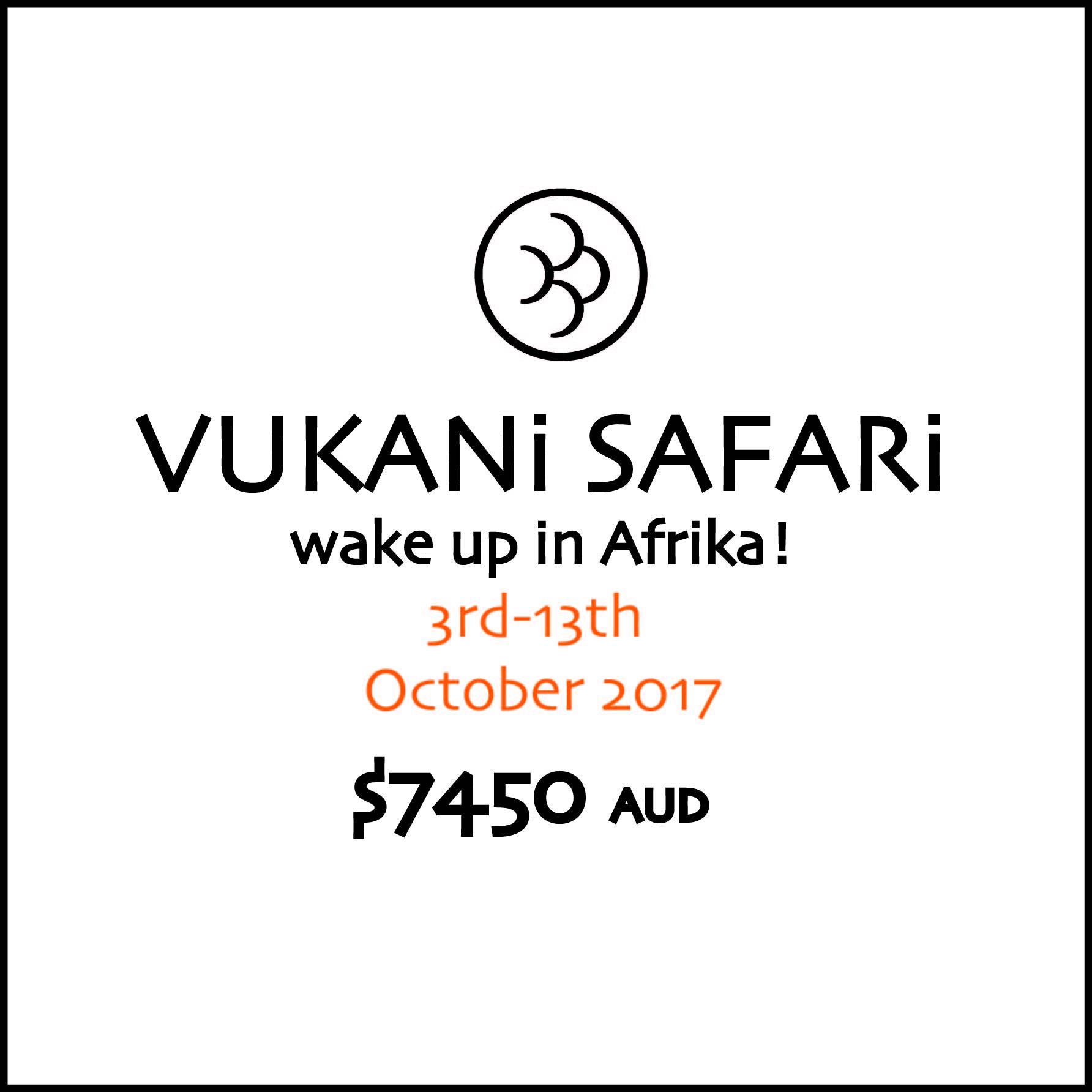 Vukani Safari Full Payment3